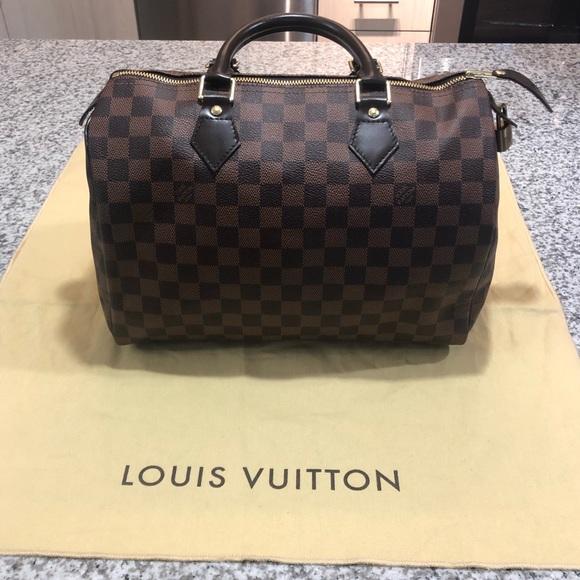 e52b43364c46 Louis Vuitton Handbags - Authentic Louis Vuitton Damier Ebene SPEEDY 30
